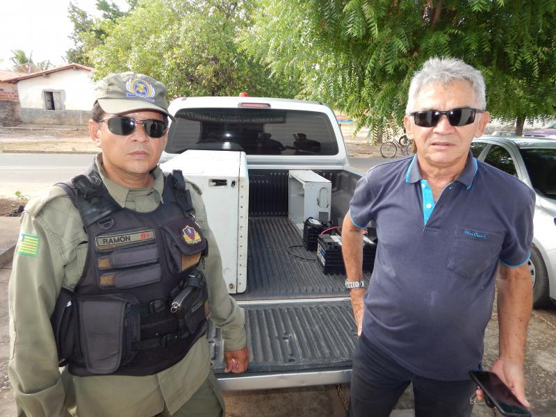 Policia de Beneditinos apreende objetos roubados da Vivo