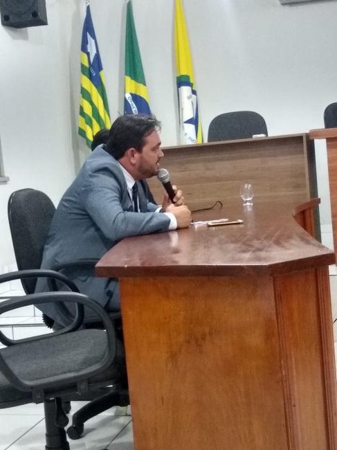 Veja o pronunciamento do Vereador Rychardson Meneses na Câmara