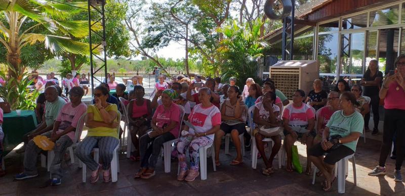 Comemorações ao dia do idoso em Demerval Lobão