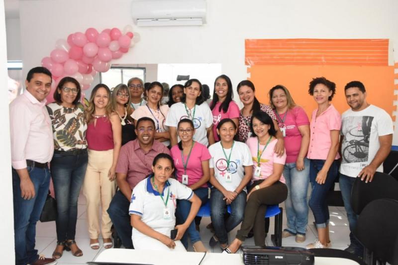 Prefeitura de Floriano realizada abertura da campanha 'Outubro Rosa'