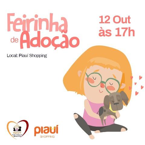 PICOS | APAPI promoverá Feirinha de Adoção de animais no próximo sábado, 12
