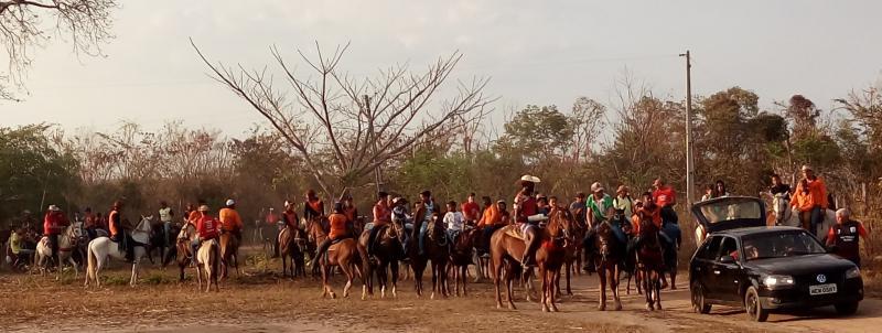 São Gonçalo do Piauí: Cavalgada é realizada na Comunidade Lagoa Vermelha