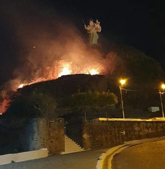 Incêndio atinge um dos principais pontos turísticos do PI