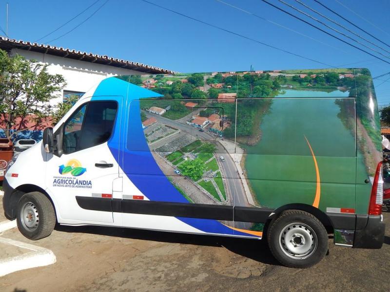 Agricolândia é contemplada com Van para transporte de pacientes