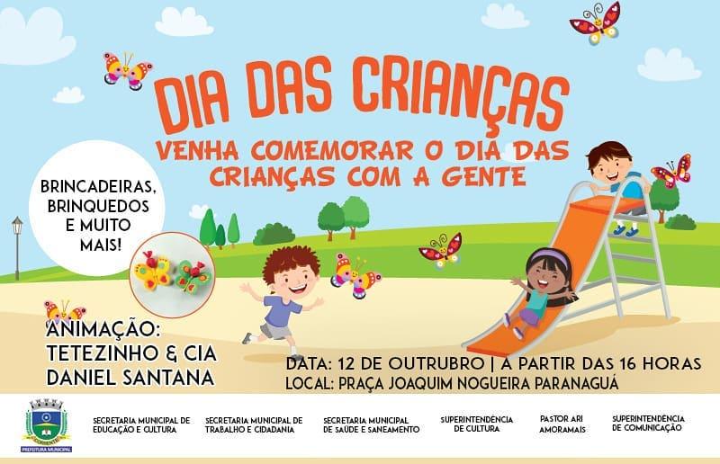 Prefeitura de Corrente define programação especial para o dia das crianças