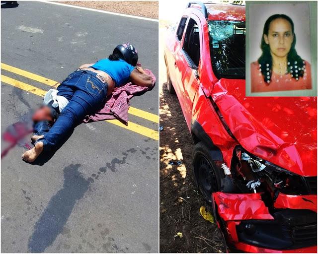 Mulher perde a perna após acidente no litoral do Piauí