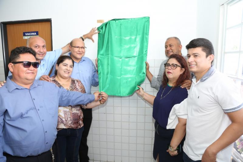 Altos: Bairro Bacurizeiro recebe nova UBS e Hospital recebe equipamentos