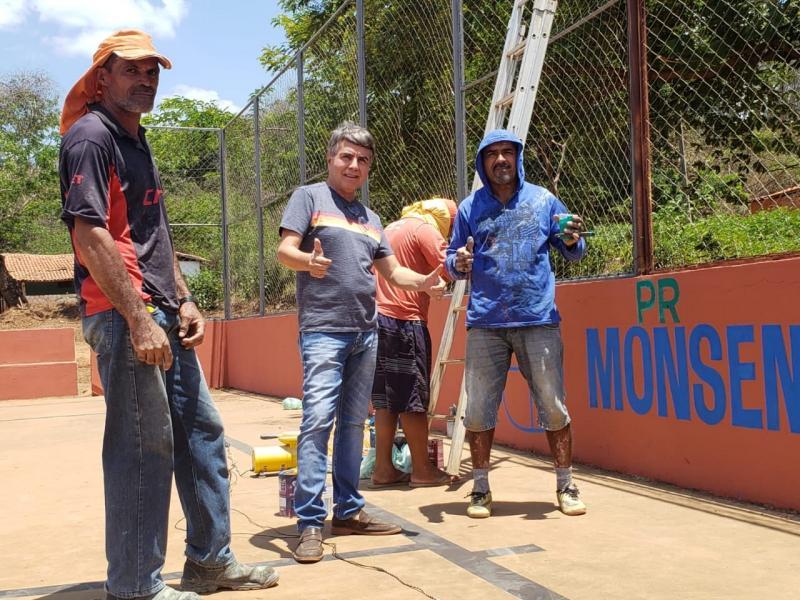 Monsenhor Gil | Prefeito anuncia melhorias na comunidade Canafístula