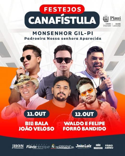Monsenhor Gil | Começa os festejos na Comunidade Canafístula