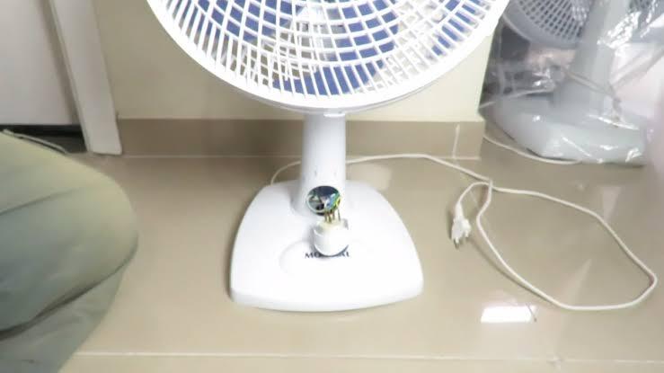 Criança morde fio de ventilador e sofre queimaduras de 3º grau