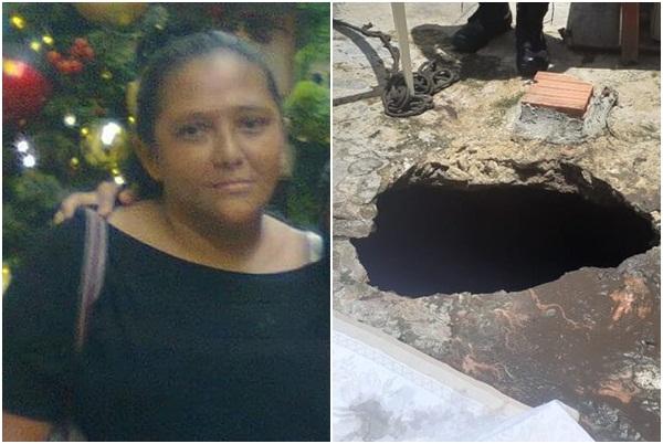 Mulher morre após ser 'engolida' por buraco enquanto estendia roupa