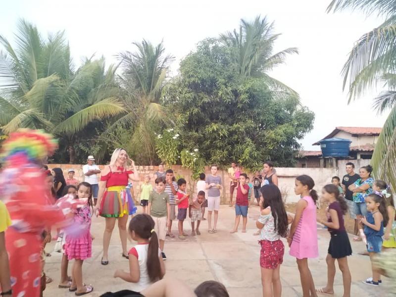 Festa das crianças em Lagoinha