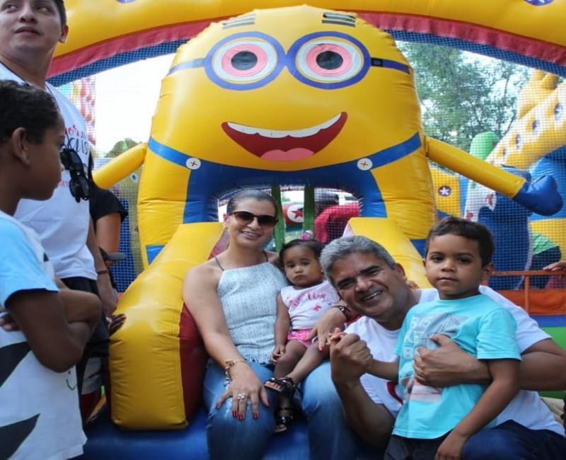 Prefeitura de Corrente promove grande festa no dia das crianças
