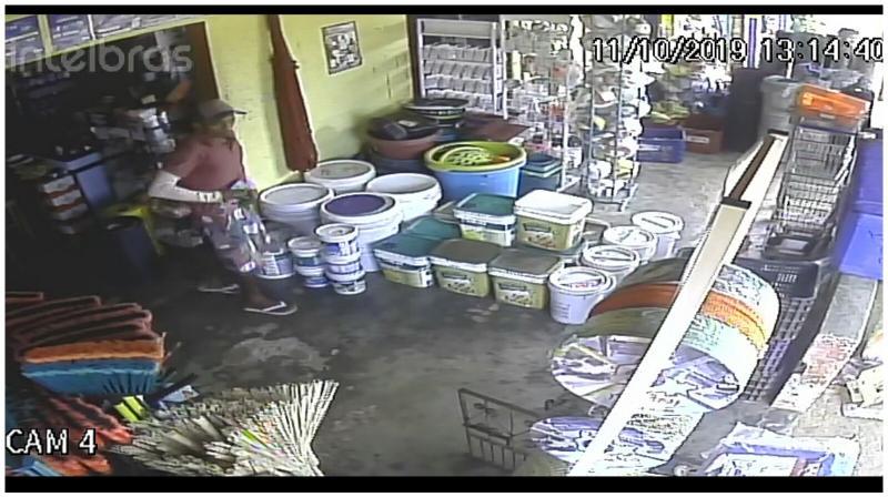 Câmeras de segurança flagram furto de aparelho celular no Norte do Piauí