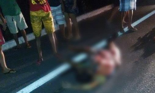 Motorista foge após atropelar e matar pedestre na BR 343