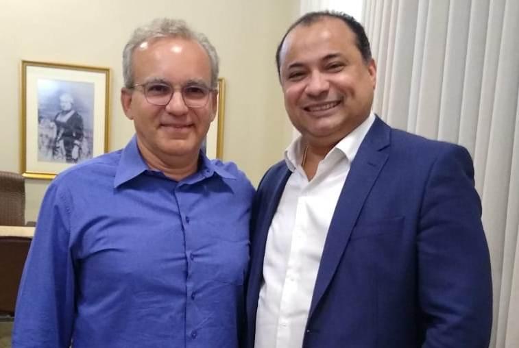 Evaldo se reúne com Firmino e confirma aliança para 2020