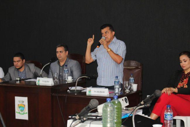 Porto | Dó Bacelar participa de audiência pública sobre abastecimento