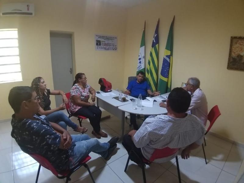 Secretaria de Meio Ambiente de Landri Sales, traça novo Planejamento