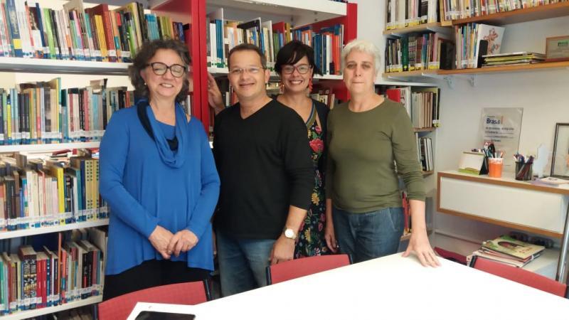 Secretário de Educação de Lagoinha participou de seminário em São Paulo