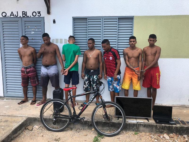 Operação da Força Tarefa prende suspeitos de vários crimes em Teresina