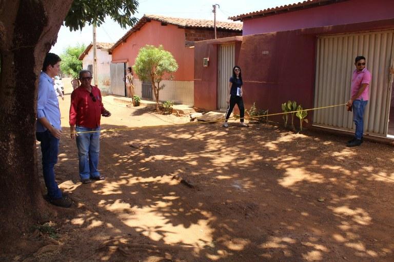 Recursos do estado garante a pavimentação dos bairros Santa Rita e Mucuripe