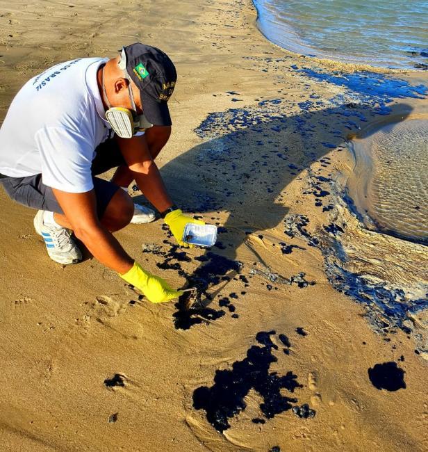 Satélite do Ibama não localiza manchas de óleo no oceano