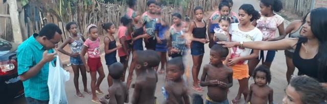 Jovens patoense promove ação social para crianças carentes
