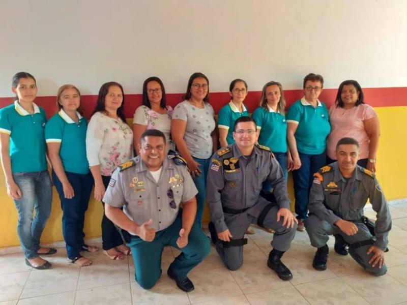 Professores das escolas de São João dos Patos recebem homenagem do 35º BPM