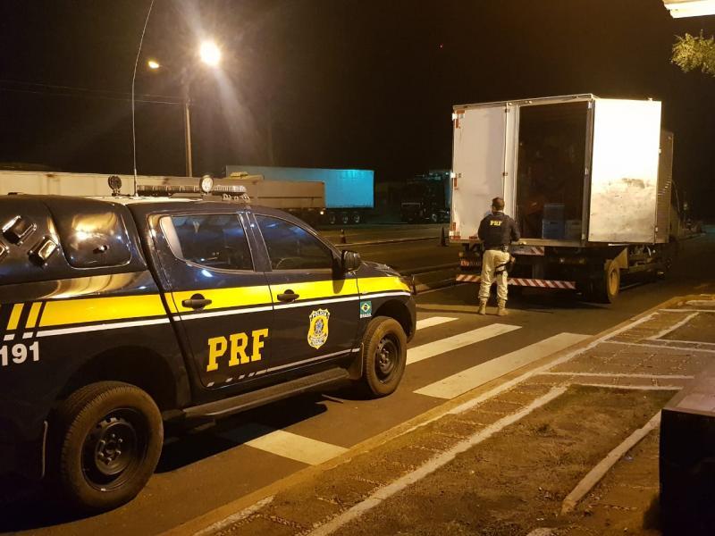 Jovem é preso no PI com cigarros contrabandeados do Paraguai