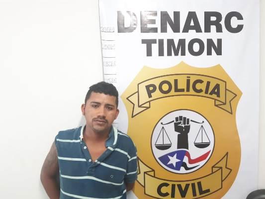 Denarc/Timon prende elemento com duas armas de fogo no Residencial 'Cocais'