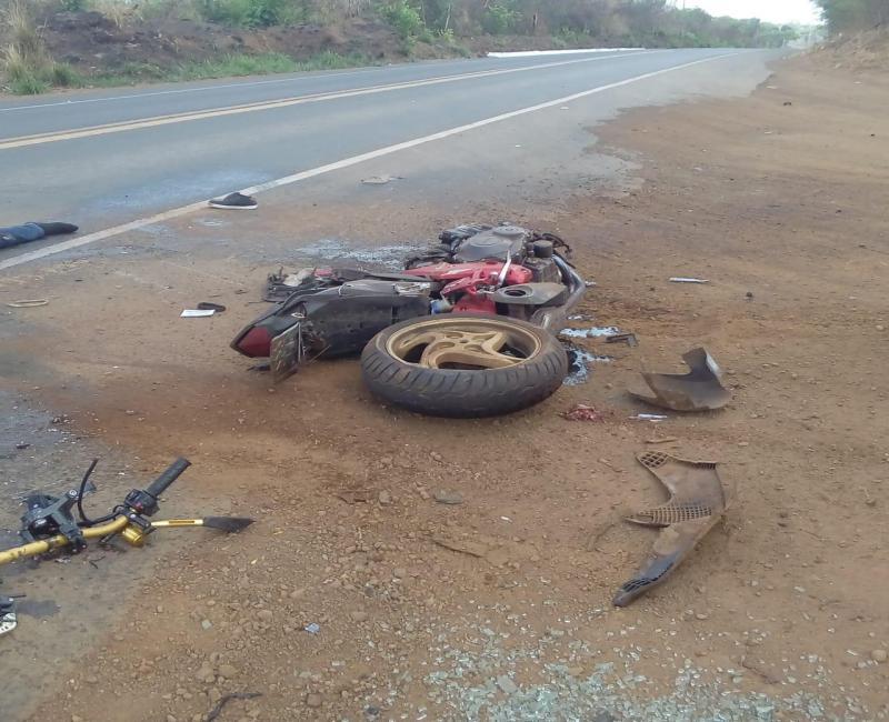 Grave acidente deixa vítima fatal na BR-135