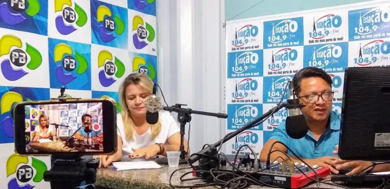 Veja a entrevista da Vice-Prefeita de Brasileira Patrícia Pimentel