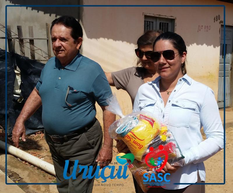 Adultos, jovens e crianças participaram de muitas atividades da assistência social em 2017