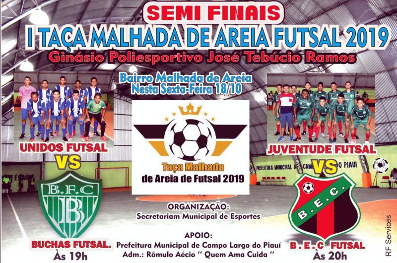 Semi Finais da I Taça Malhada de Areia Futsal 2019