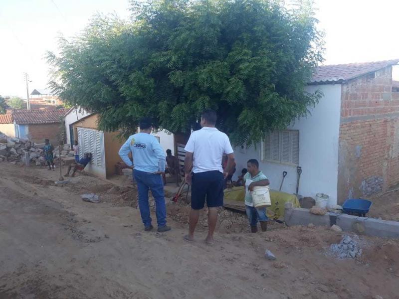 Simplício Mendes | Iniciados os trabalhos de pavimentação da Rua São José