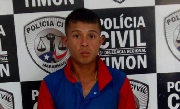 Condenado por assalto é preso pelo GPE-18/Timon