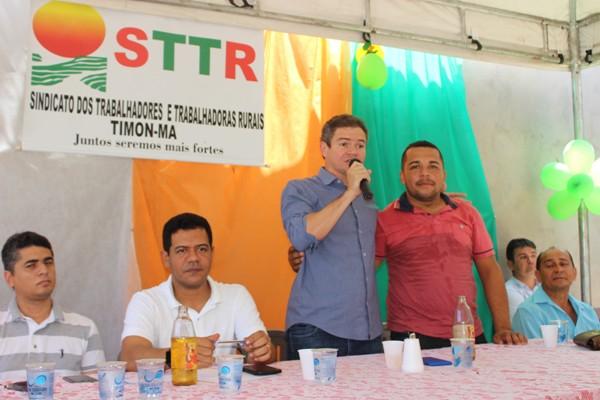 Deputado Rafael Leitoa prestigia posse da nova diretoria da STTR/Timon