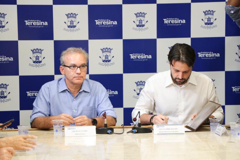 Teresina recebe mais de R$85 milhões de recursos do Ministério das Cidades