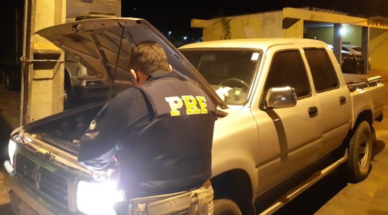 PRF prende casal suspeito por uso de documento falso na BR 343