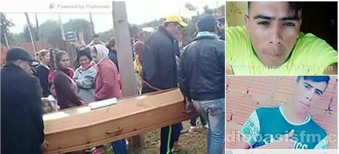 Bizarro! Jovem dado como morto aparece no próprio funeral