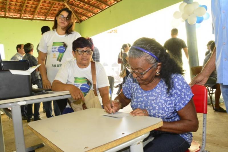 Floriano | Social Itinerante chega ao Tabuleiro do Mato