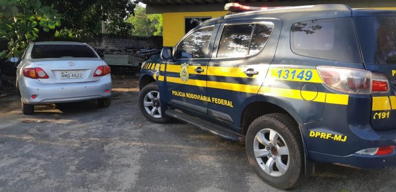 Sargento é preso com veículo roubado na BR-316