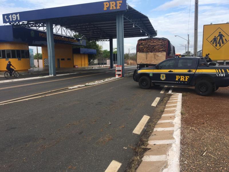 Madeira ilegal avaliada em R$ 11 mil é apreendida no PI