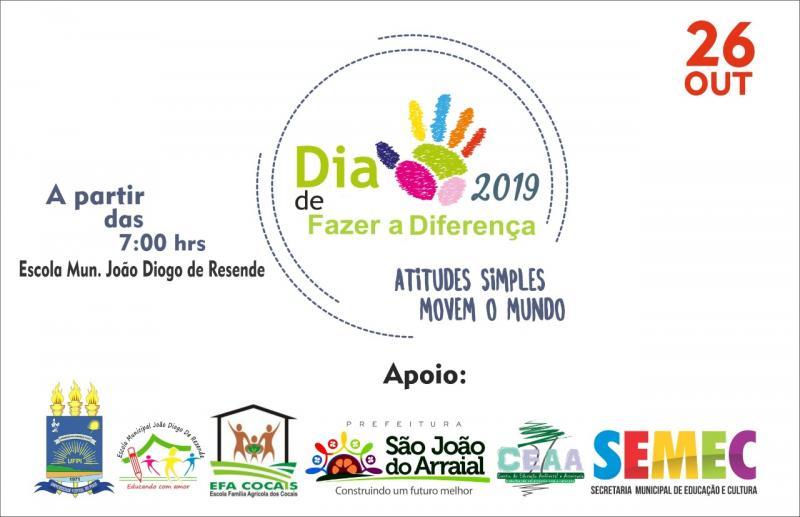 Escola João Diogo de Resende realizará dia de ação social no próximo sábado