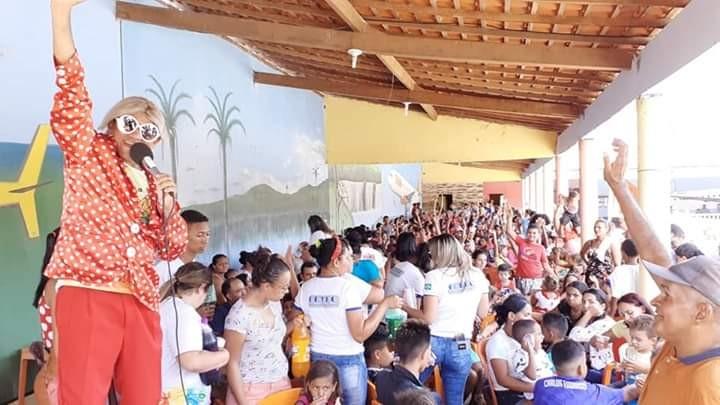Agricolândia | Festa das crianças organizada pelo grupo Mãos que Doam