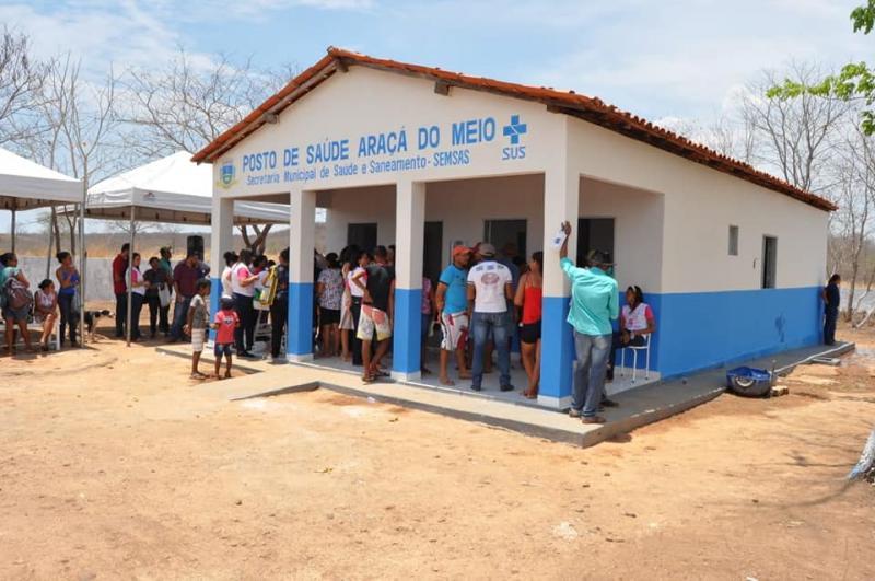 Corrente | Saúde reestrutura posto da comunidade Araça do Meio