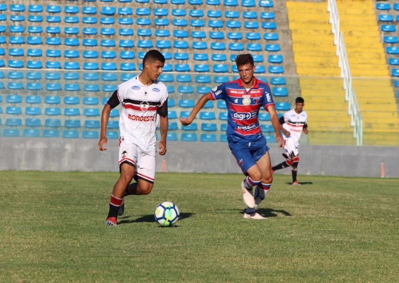 River empata com o Fortaleza na estreia da Copa do Nordeste Sub-20