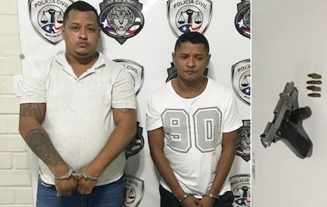 'Papel' e 'FB' são presos após realizarem uma onda de assaltos