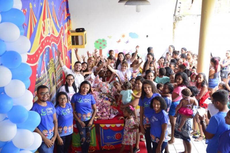SEMDAS realiza ação alusiva ao Dia das Crianças em Floriano