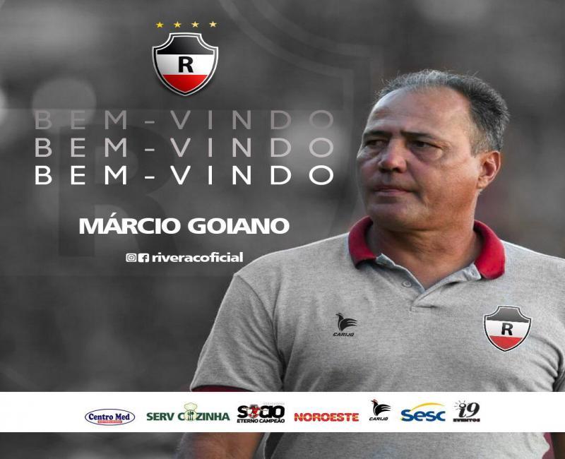 River anuncia Márcio Goiano como treinador para a temporada 2020